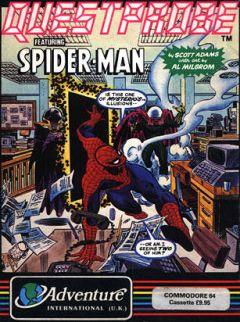 Jaquette de Questprobe featuring Spider-Man Commodore 64