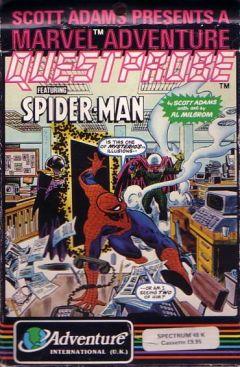Jaquette de Questprobe featuring Spider-Man ZX Spectrum