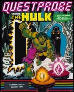 Jaquette de Questprobe featuring The Hulk Commodore 64