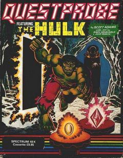 Jaquette de Questprobe featuring The Hulk ZX Spectrum