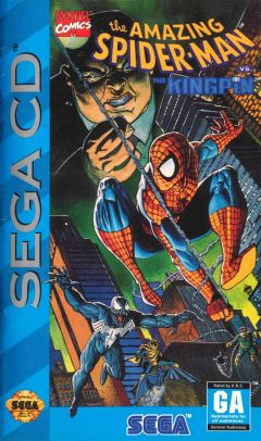 Jaquette de Spider-Man vs. The Kingpin MegaCD