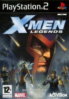 Jaquette de X-Men Legends PlayStation 2