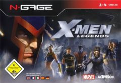 Jaquette de X-Men Legends N-Gage