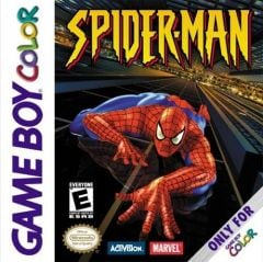 Jaquette de Spider-Man Game Boy Color