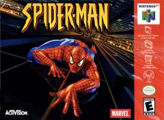 Jaquette de Spider-Man Nintendo 64