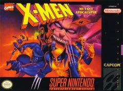 Jaquette de X-Men : Mutant Apocalypse Super NES
