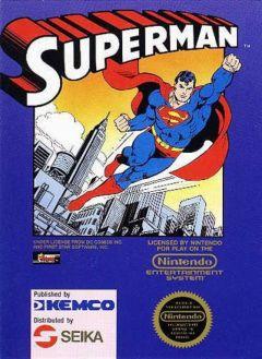 Jaquette de Superman (Nes) NES