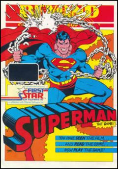 Jaquette de Superman : The Game Commodore 64