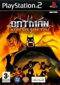Jaquette de Batman : Rise of Sin Tzu PlayStation 2