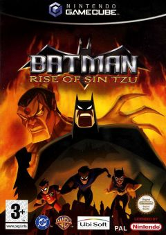 Jaquette de Batman : Rise of Sin Tzu GameCube