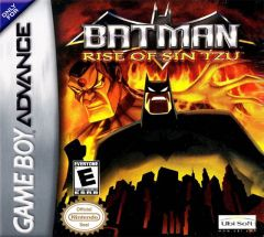 Jaquette de Batman : Rise of Sin Tzu Game Boy Advance