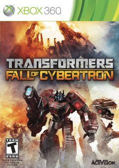Jaquette de Transformers : La Chute de Cybertron Xbox 360