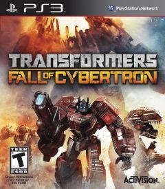 Jaquette de Transformers : La Chute de Cybertron PlayStation 3