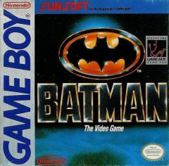 Jaquette de Batman Game Boy