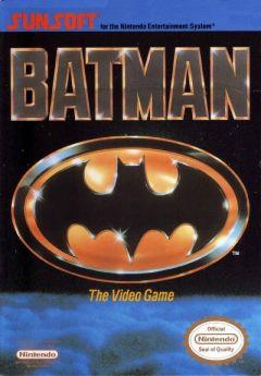 Jaquette de Batman NES