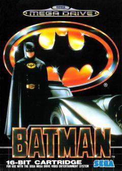 Jaquette de Batman Mega Drive