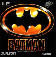 Jaquette de Batman PC Engine