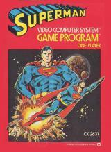 Jaquette de Superman (Atari 2600) Atari 2600