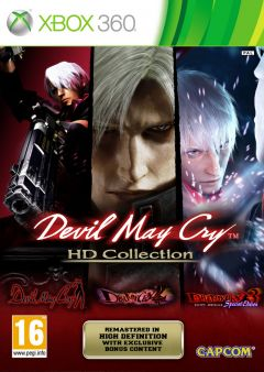 Jaquette de Devil May Cry HD Collection Xbox 360