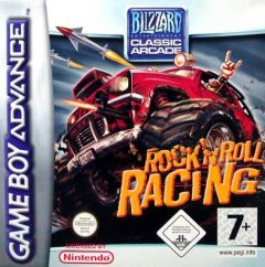 Jaquette de Rock N' Roll Racing Game Boy Advance