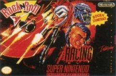 Jaquette de Rock N' Roll Racing Super NES