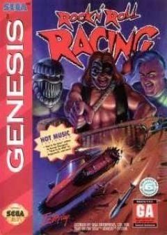 Jaquette de Rock N' Roll Racing Mega Drive