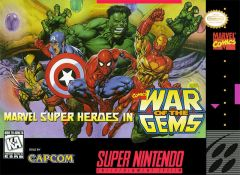 Jaquette de Marvel Super Heroes in War of the Gems Super NES