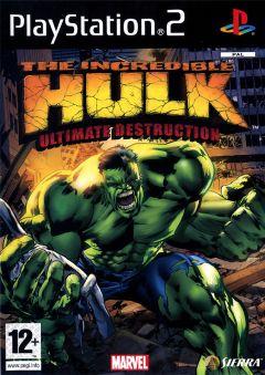 Jaquette de The Incredible Hulk : Ultimate Destruction PlayStation 2