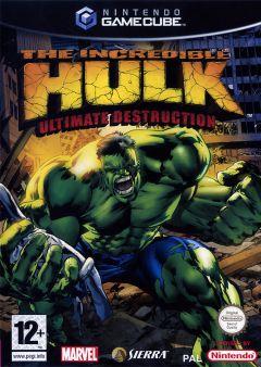 Jaquette de The Incredible Hulk : Ultimate Destruction GameCube