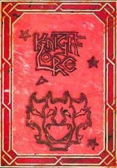 Jaquette de Knight Lore Commodore 64