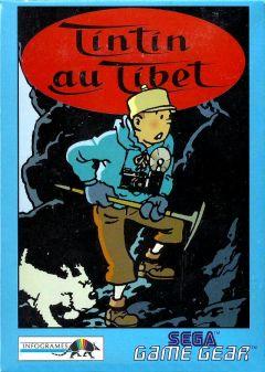 Jaquette de Tintin au Tibet GameGear