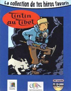 Jaquette de Tintin au Tibet PC