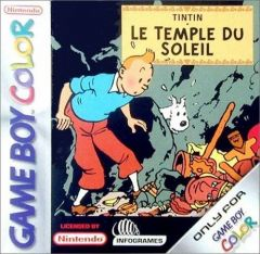 Jaquette de Tintin : Le Temple du Soleil Game Boy Color