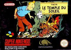 Jaquette de Tintin : Le Temple du Soleil Super NES