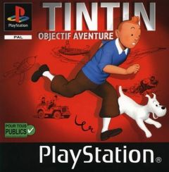 Jaquette de Tintin : Objectif Aventure PlayStation
