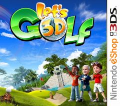 Jaquette de Let's Golf! 3D Nintendo 3DS