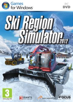 Jaquette de Ski Region Simulator 2012 PC