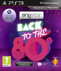 Jaquette de SingStar Back To The 80s PlayStation 3