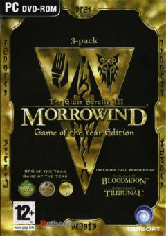 Jaquette de The Elder Scrolls III : Morrowind - Game of the Year Edition PC