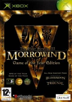 Jaquette de The Elder Scrolls III : Morrowind - Game of the Year Edition Xbox