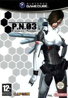 Jaquette de P.N.03 GameCube