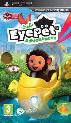 Jaquette de EyePet Adventures PSP