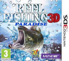 Jaquette de Reel Fishing Paradise 3D Nintendo 3DS