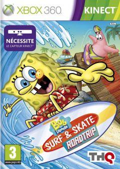 Jaquette de Bob L'Eponge : Surf & Skate Roadtrip Xbox 360