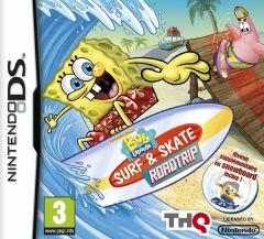 Jaquette de Bob L'Eponge : Surf & Skate Roadtrip DS