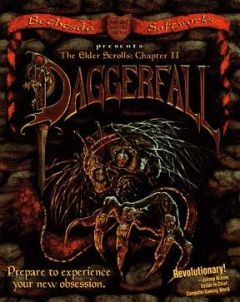 Jaquette de The Elder Scrolls II : Daggerfall PC