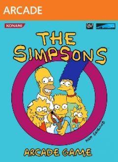 Jaquette de The Simpsons Arcade Game Xbox 360