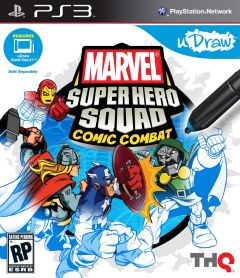 Jaquette de Marvel Super Hero Squad : Comic Combat PlayStation 3