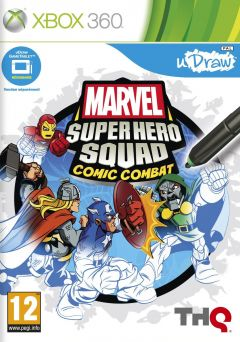 Jaquette de Marvel Super Hero Squad : Comic Combat Xbox 360