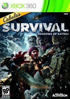 Jaquette de Cabela's Survival : Shadows of Katmai Xbox 360